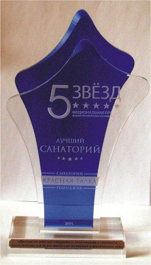 """Гостиницы Геленджика получили Национальную премию """"Пять звезд"""" – 2011"""""""