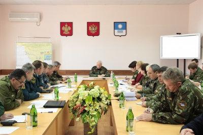 В селе Пшада под Геленджиком провели командно-штабные учения