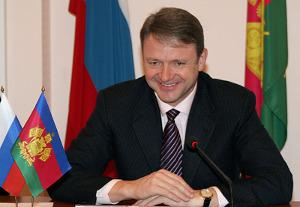 Поздравление главы Краснодарского края с Международным женским днем в адрес жительниц Кубани