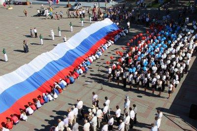 Поздравление с Днём государственного флага Российской Федерации