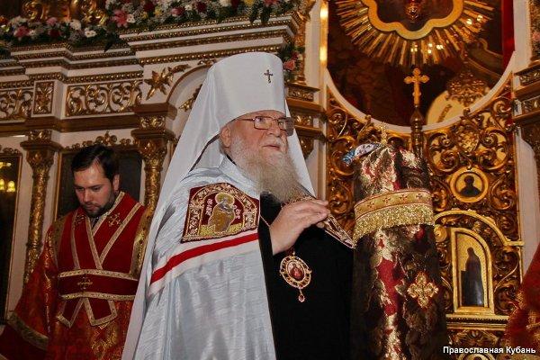 Пасхальное послание Высокопреосвященнейшего митрополита Екатеринодарского и Кубанского Исидора